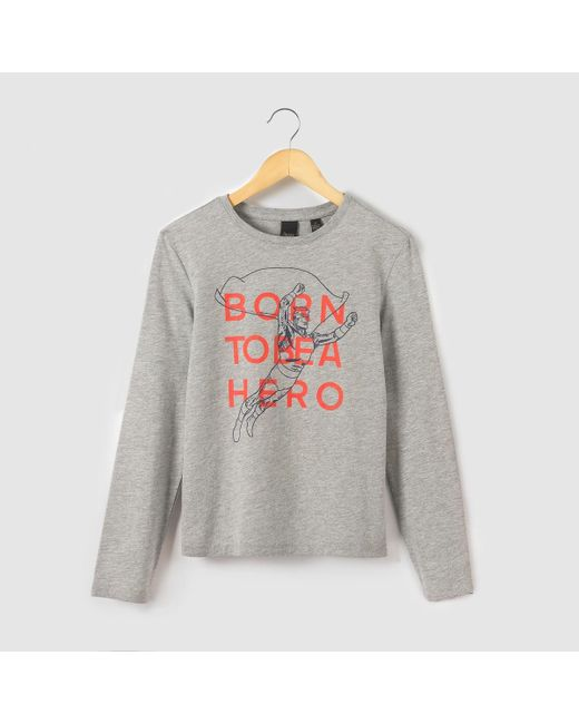 Le Temps Des Cerises | Gray Long-sleeved T-shirt, 10-16 Years for Men | Lyst