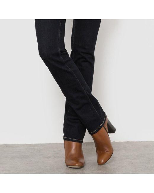 pepe jeans venus straight jeans in blue lyst. Black Bedroom Furniture Sets. Home Design Ideas