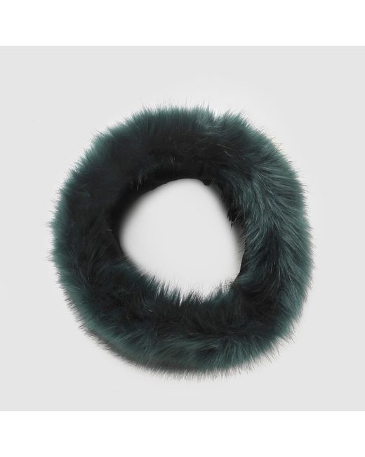 LA REDOUTE | Green Faux Fur Snood | Lyst