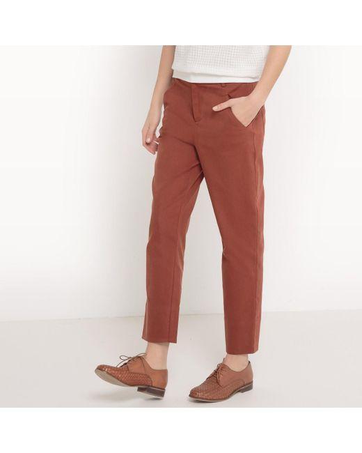 LA REDOUTE | Multicolor Straight Trousers | Lyst