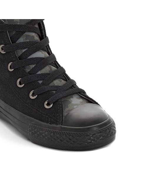 ... Converse - Black Chuck Taylor All Star High Top Trainers for Men - Lyst  ... 1025306705