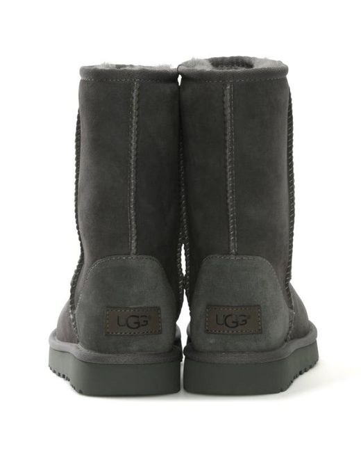 03adc741558 Ugg Ugg Australia Classic Short Ii Stormy Grey Twinface Boot in Gray ...