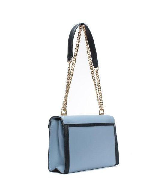 49b109493d40 ... Lyst Michael Kors - Whitney Large Pale Blue   Admiral Leather Shoulder  Bag Co ...