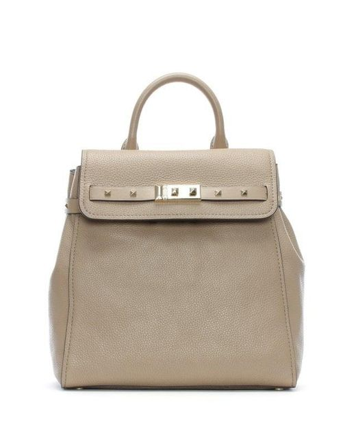 2416562257f3 Michael Kors - Multicolor Addison Truffle Pebbled Leather Backpack - Lyst  ...