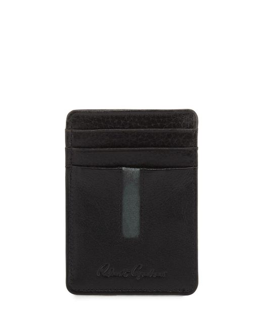 POLO RALPH LAUREN BI FOLD BLACK LEATHER /'BOULDER/' NOTE COIN WALLET