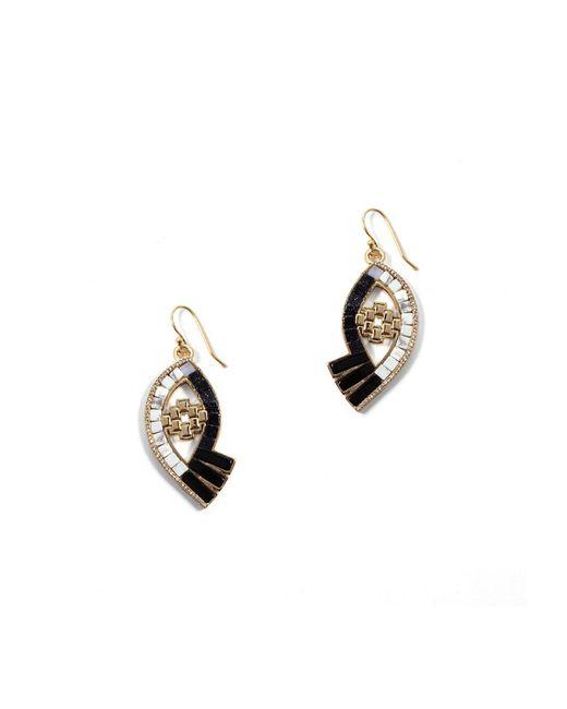 Lulu Frost - Metallic Lumen Mosaic Eye Drop Earrings - Lyst