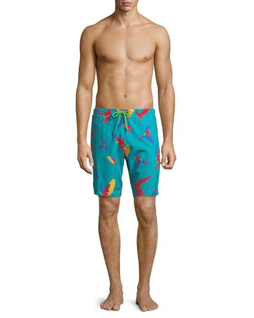 Sovereign Code - Blue Men's Harbor Swim Shorts for Men - Lyst