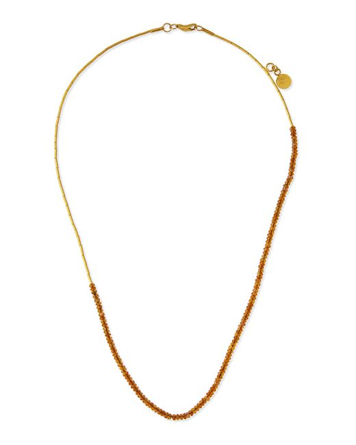 Gurhan | Metallic Rain Delicate 24k Citrine Beaded Necklace | Lyst