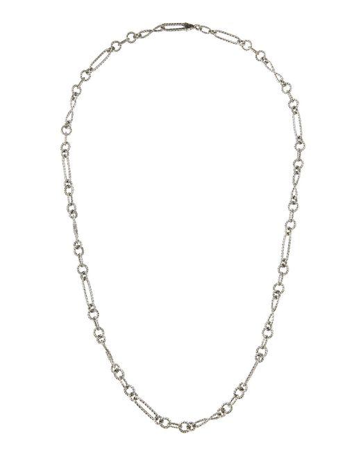 John Hardy | Blue Sautoir Long Mixed Link Necklace | Lyst