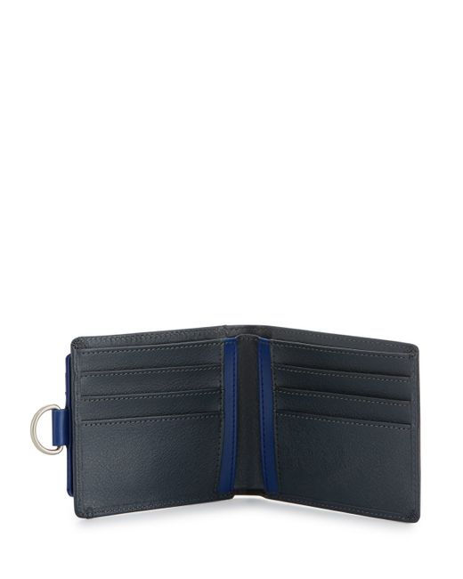 Original Penguin Blue All-in-one Bifold Wallet for men