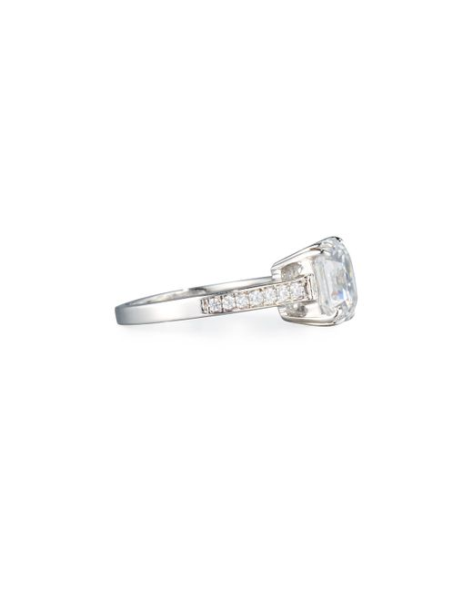 Fantasia by Deserio   Multicolor Asscher-cut Clear Cubic Zirconia Ring   Lyst