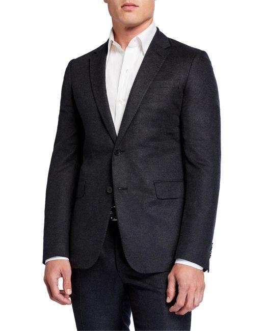 Valentino Multicolor Men's Wool Two Piece Suit for men