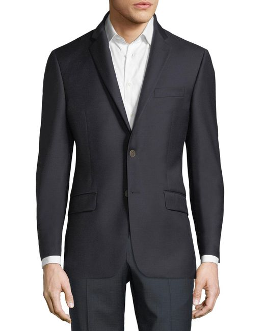 Hickey Freeman - Blue Single-breasted Wool Sport Coat for Men - Lyst