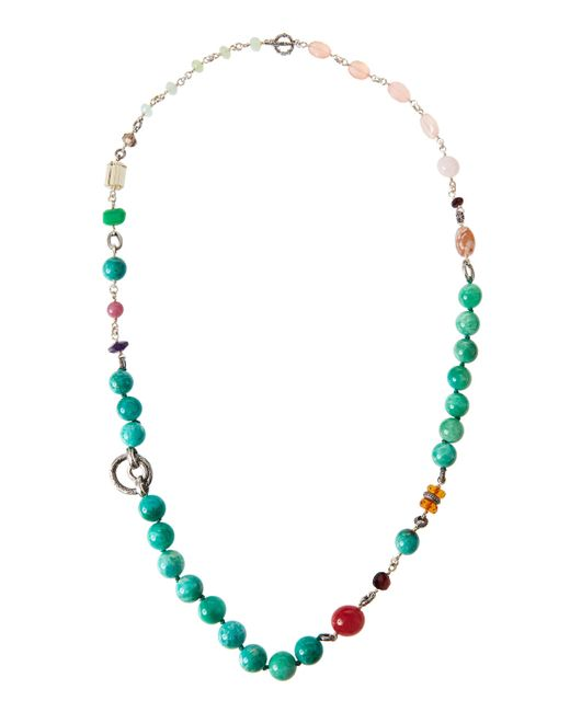 Stephen Dweck | Multicolor Mixed-stone Long Beaded Necklace | Lyst