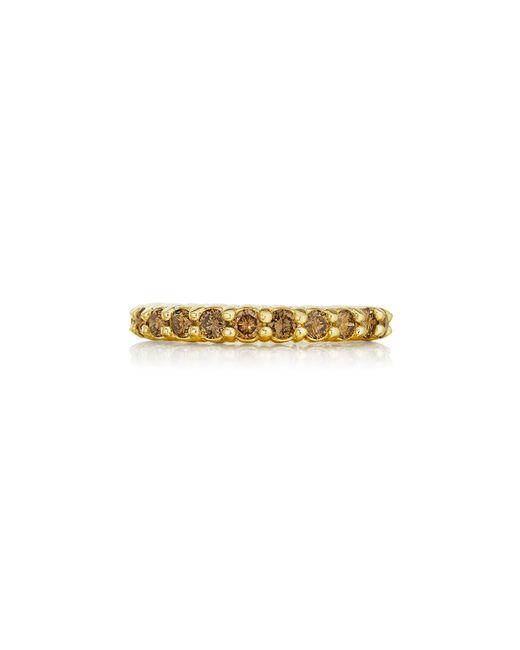 Penny Preville | Multicolor 18k Champagne Diamond Eternity Ring | Lyst
