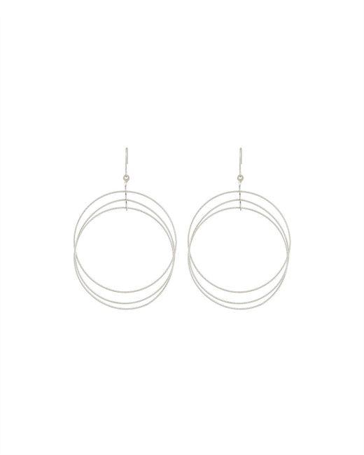 Kenneth Jay Lane   Metallic Multi-circle Drop Earrings   Lyst