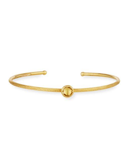 Marco Bicego | Yellow Jaipur 18k Bangle Bracelet W/ Lemon Citrine | Lyst