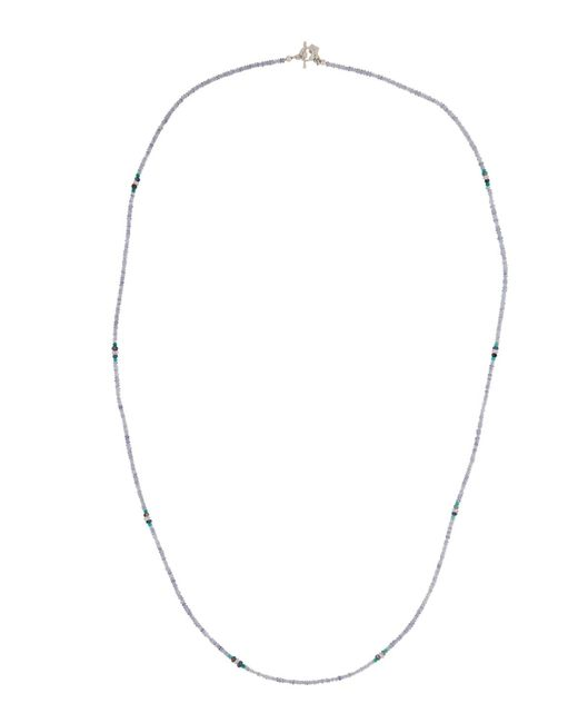Armenta | Long Iolite & Green Onyx Beaded Necklace | Lyst