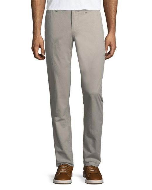 Original Penguin | Gray Basic Twill Five-pocket Pants for Men | Lyst