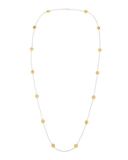 Gurhan | Metallic Lush Long Disc-station Necklace | Lyst