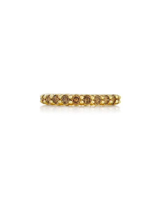 Penny Preville | Multicolor 18k Champagne Diamond Eternity Ring | Lyst