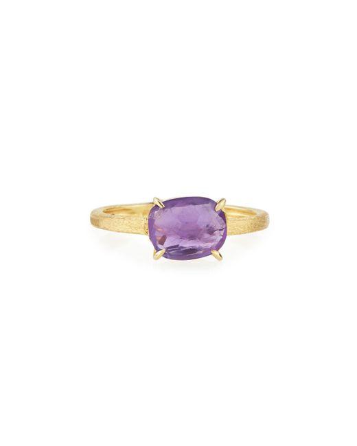 Marco Bicego | Multicolor 18k Cushion-cut Amethyst Ring | Lyst