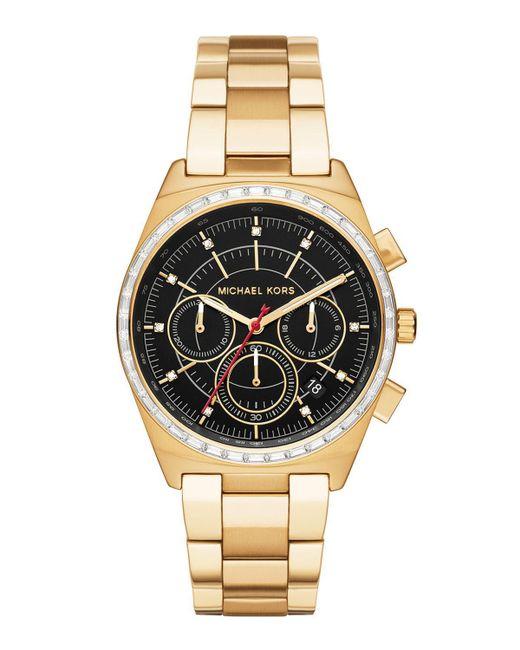MICHAEL Michael Kors | Black 38mm Vail Chronograph Watch for Men | Lyst