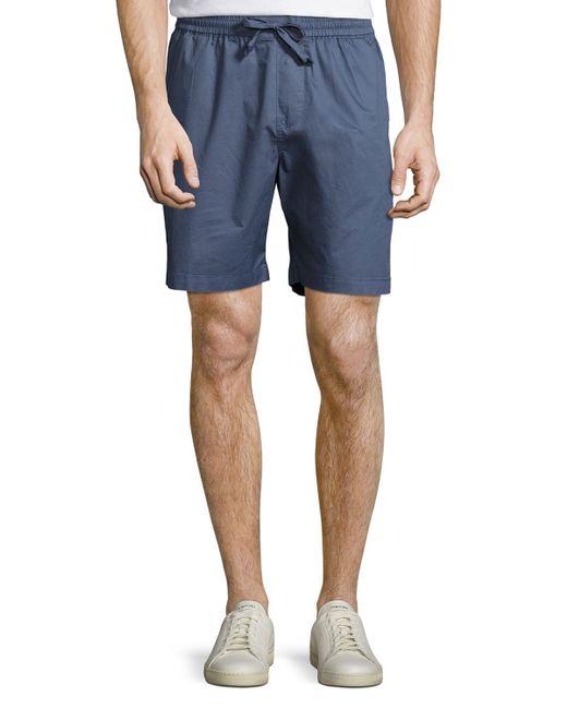 Original Penguin | Blue Drawcord Slim-fit Shorts for Men | Lyst
