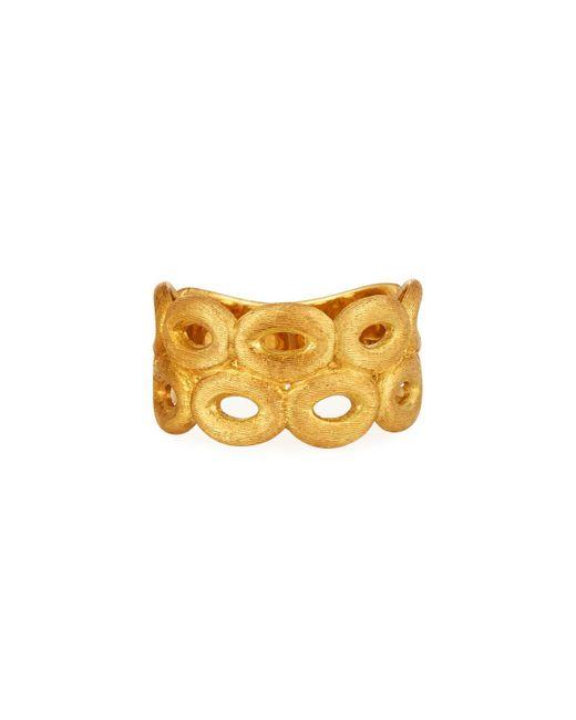 Marco Bicego - Metallic Siviglia 18k Two Row Link Ring - Lyst