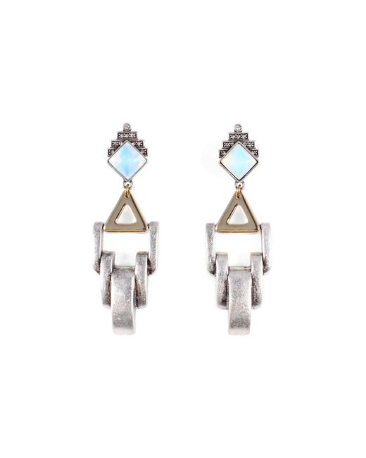 Lulu Frost - Metallic Horizon Clip-on Earrings - Lyst