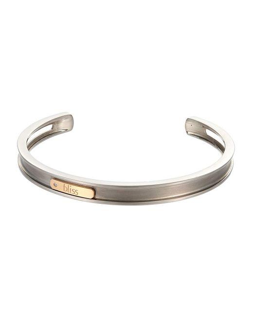 Damiani - Metallic 18k Rose Gold & Titanium Bracelet 6l - Lyst