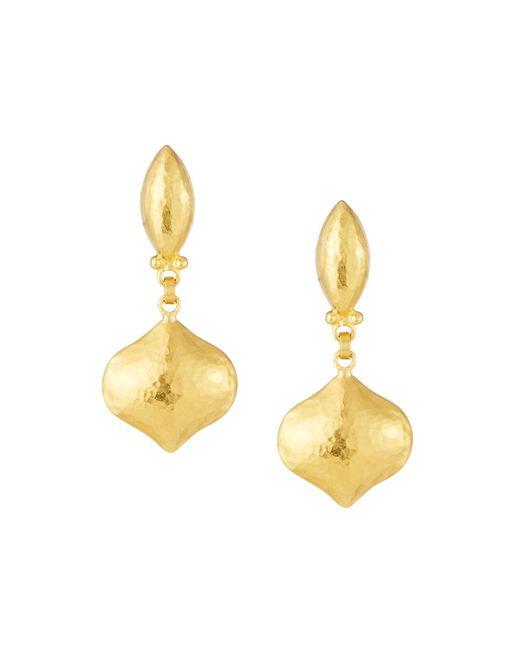 Gurhan - Metallic Clove 24k Puff Drop Earrings - Lyst