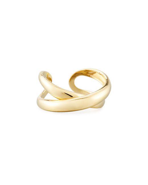 Roberto Coin - Metallic 18k Crossover X Ring - Lyst