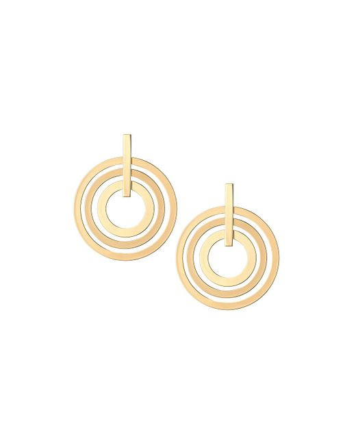 Lydell NYC - Metallic Multi-hoop Earrings - Lyst