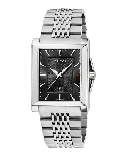 Gucci - Multicolor 33mm G-timeless Steel Rectangle Bracelet Watch - Lyst