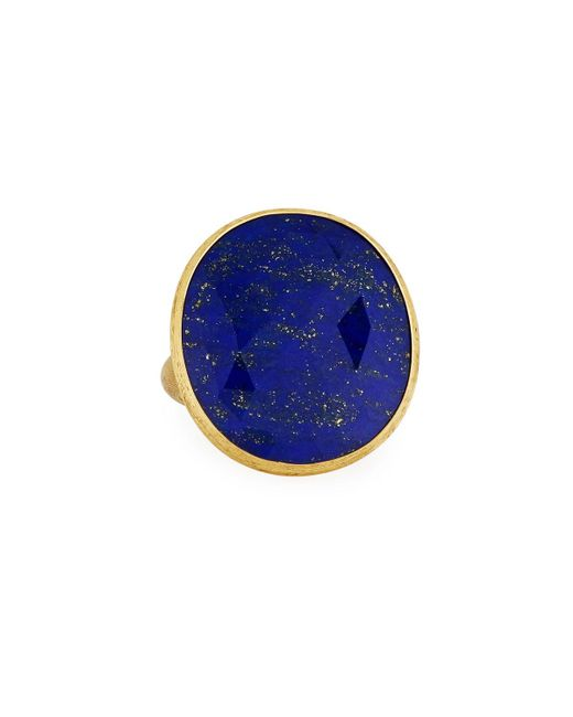 Marco Bicego - Blue Unico 18k Lapis Cocktail Ring - Lyst