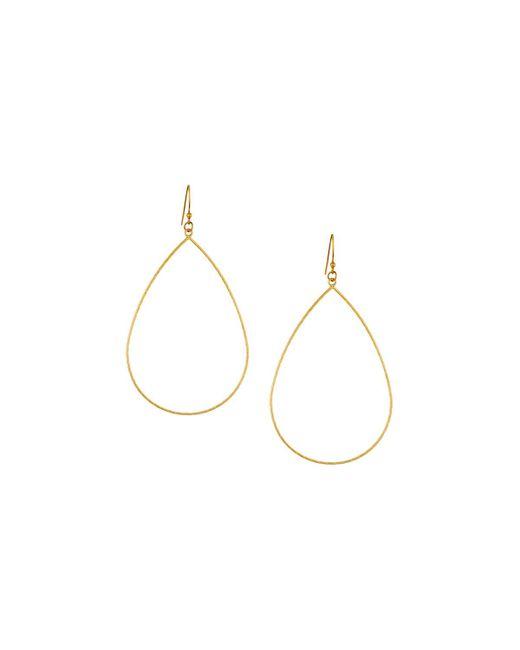 Panacea | Metallic Textured Wire Teardrop Earrings | Lyst