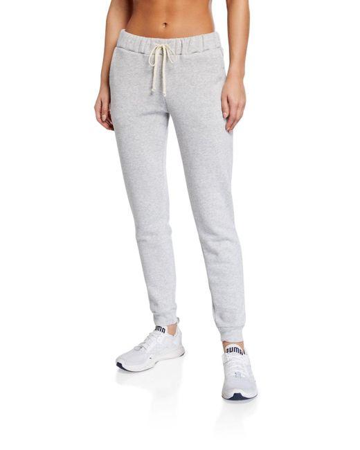 Alternative Apparel Gray Eco Cotton-blend Sweatpants