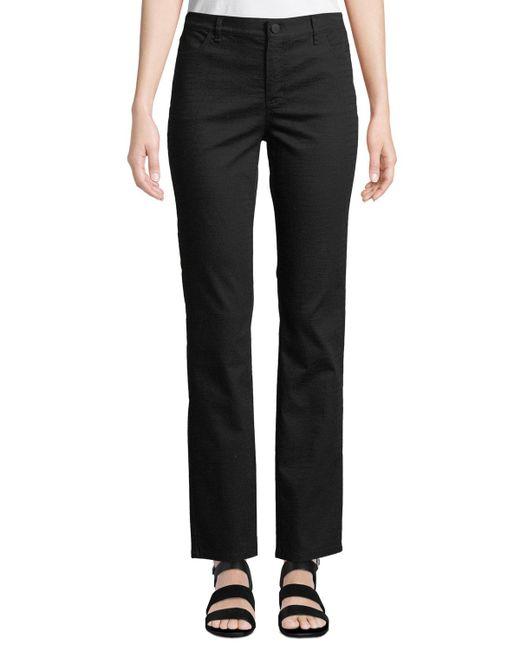 Lafayette 148 New York - Black Thompson Colored Slim-leg Jeans - Lyst