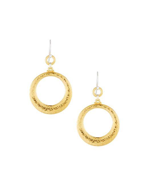 Gurhan - Metallic Hoopla Tapered Hoop Earrings - Lyst