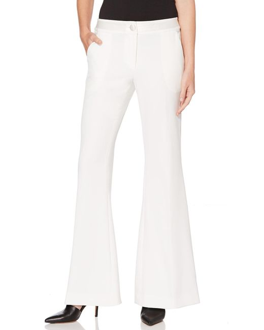 Laundry by Shelli Segal - White Flare Pant - Lyst