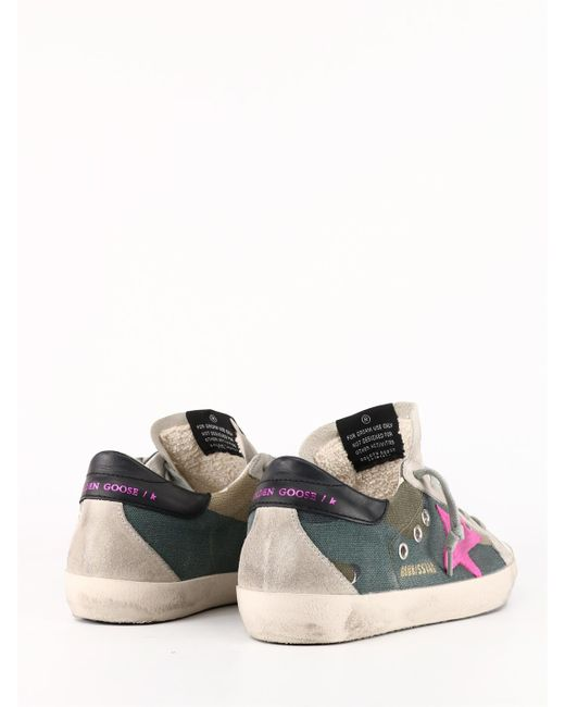 Sneaker Purestar di Golden Goose Deluxe Brand in Green