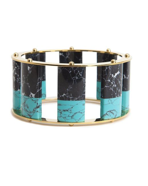 Lele Sadoughi - Blue Tall Stackable Bangle - Lyst