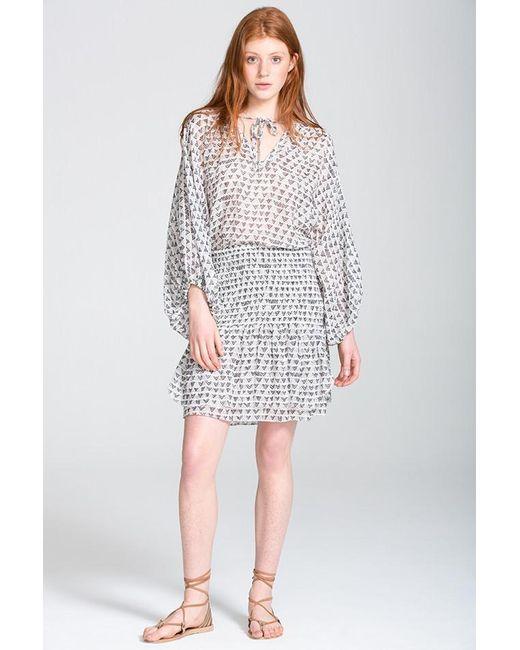 Lemlem | White Lula Skirt | Lyst