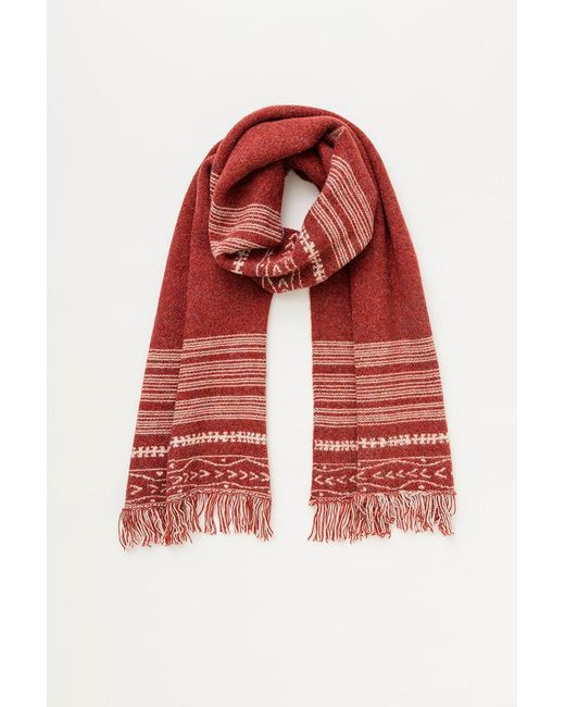 Lemlem | Red Dilla Scarf | Lyst