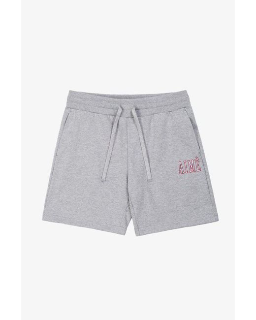 Aimé Leon Dore - Gray Aimé Jersey Short   Grey for Men - Lyst