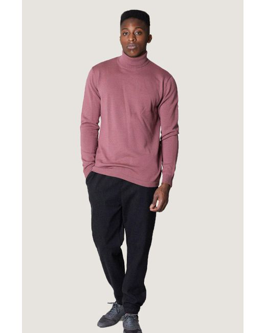 Journal - Pink Bravo Roll Neck | Rose Brown for Men - Lyst