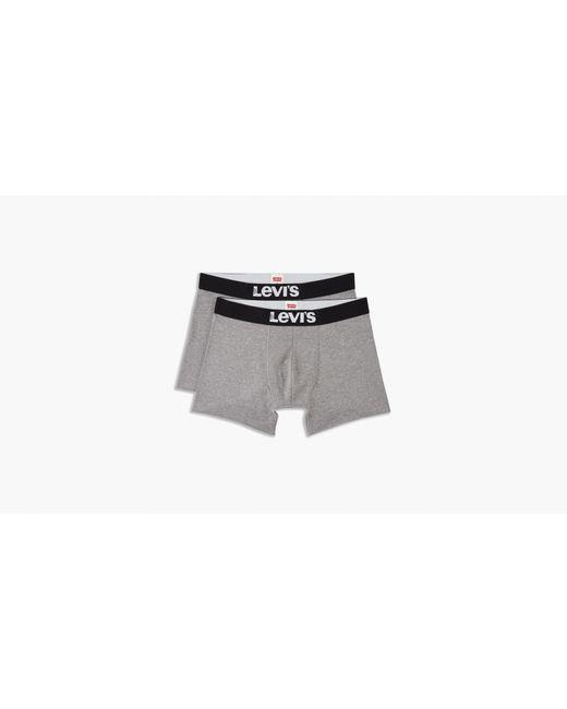 Levi's Gray ® Basic Boxer Brief 2 Pack for men