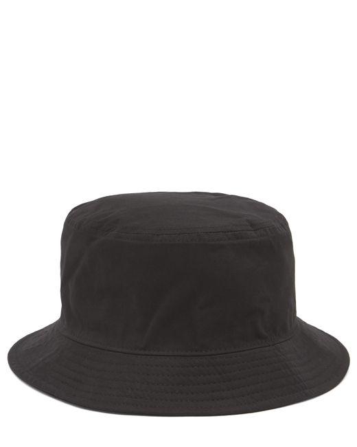 Acne Black Buk Face Co Tw Bucket Hat