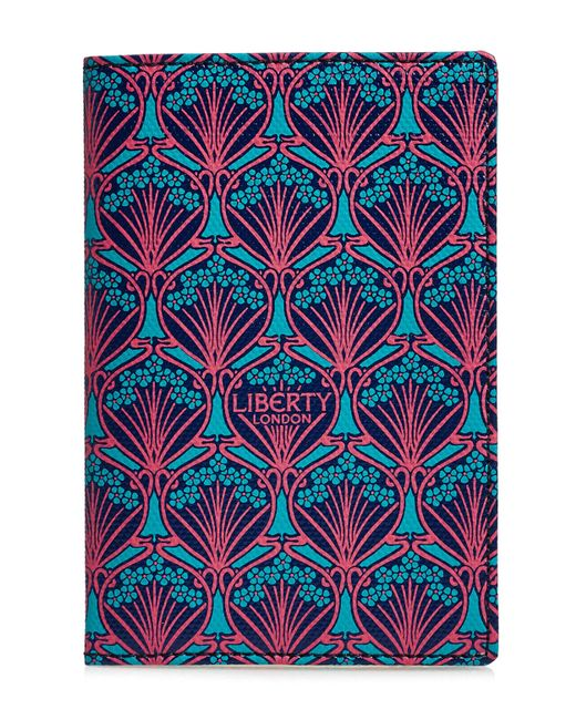 Liberty - Blue Passport Holder In Iphis Canvas for Men - Lyst